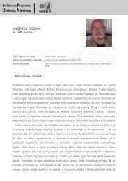 ANDRZEJ ROZHIN - Biblioteka Multimedialna Teatrnn.pl - Ośrodek ...