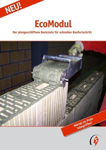 EcoModul - Ziegelei Schumacher Körbligen Gisikon