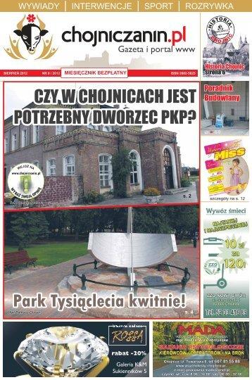 Numer 8/2012 - Chojniczanin.pl