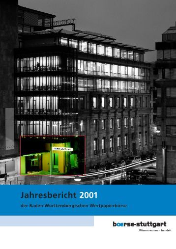 Kuratorium Vorstand - Börse Stuttgart