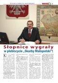 """""""Skarby Małopolski""""! - Echo Regionu Małopolska - Page 5"""