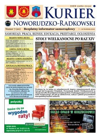 "Nr 07 (20) - Agencja Rozwoju Regionalnego ""AGROREG"" SA"