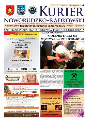 KURIER NOWORUDZKO - Agencja Rozwoju Regionalnego ...