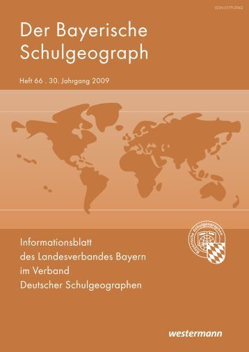 Heft 66 - Verband Deutscher Schulgeographen e.V.