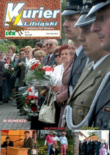 Nr 35 – Maj 2008 r. - Libiąskie Centrum Kultury - Libiąż