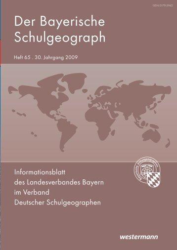 Heft 65 - Verband Deutscher Schulgeographen e.V.