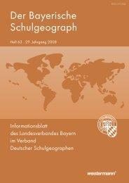 Heft 63 - Verband Deutscher Schulgeographen e.V.