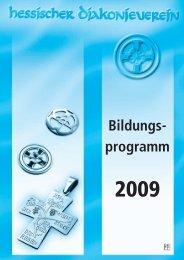 Bildungs- programm - Hessischer Diakonieverein