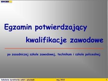dokumenty/procedury-nowe/szkol dyr.pdf - Zespół Szkół ...