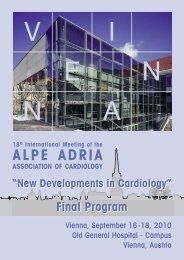 alpe adria association of cardiology