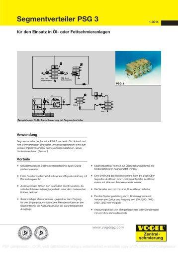 Segmentverteiler PSG 3 - Kartal Rulman