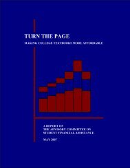 Turn the Page: Making College Textbooks More Affordable (PDF)