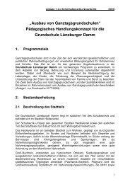 Tagesgrurppe in Ganztagsschulen - Erfahrungen aus Hannover - Erev