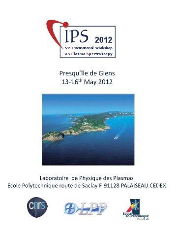 LOC Organized By LPP Palaiseau France