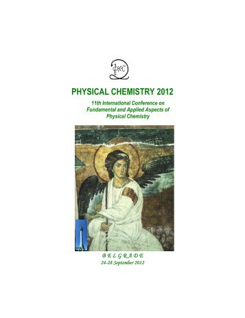 PHYSICAL CHEMISTRY 2012