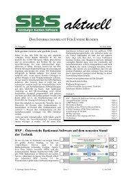 BXP – Österreichs Bankomat-Software auf dem neuesten Stand der