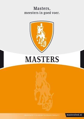 Masters Diervoeders