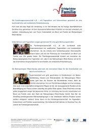 Die Familiengenossenschaft eG - Erfolgsfaktor Familie