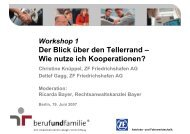 ZF Friedrichshafen AG - Erfolgsfaktor Familie
