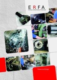 Prospekt PDF - ERFA Werkzeug- und Maschinenbau