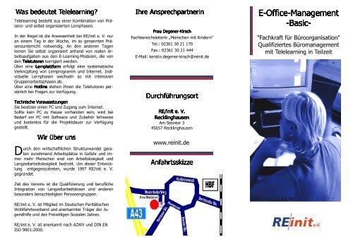 E-Office-Management Management -Basic- - Erfolgsfaktor Familie
