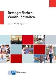 Demografischen Wandel gestalten - IHK Schleswig-Holstein