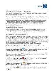 Merkblatt Zivildienst dt - N.e.t.z.