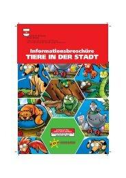 Informationsbroschüre TIERE IN DER STADT - Stadtgemeinde Bozen