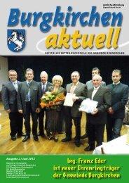 aktuelles - Gemeinde Burgkirchen - Land Oberösterreich