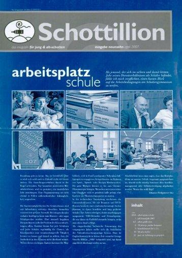 Schottillion Ausgabe Nr. 19 - Alt-Schotten