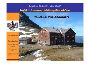 HERZLICH WILLKOMMEN - DAV Eichstätt