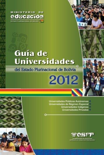 Guía de Universidades 2012
