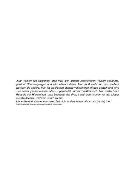 Der Minority Report - Mittelstand PRO NRW