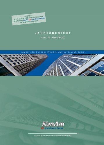 J A H R E S B E R I C H T zum 31. März 2010 - Stockselection GmbH
