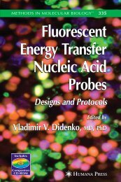 Fluorescent Energy Transfer Nucleic Acid Probes - Molecules and ...