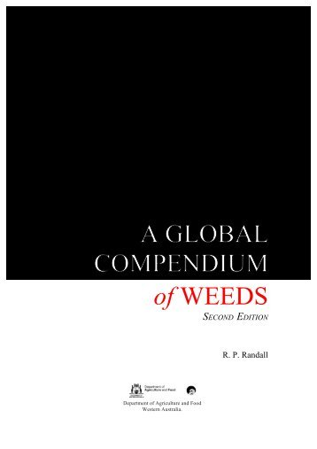 Compendium Second Edition - Department of Agriculture and Food