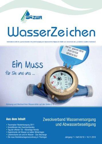 Zweckverband Wasserversorgung und Abwasserbeseitigung - ZWA