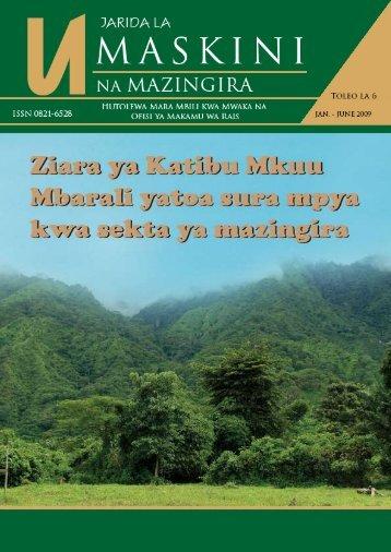 Bodi ya Uhariri - UNDP in Tanzania