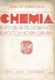 Biblioteca Digital | FCEN-UBA | Chemia Nº 88 y 89 Revista del ...