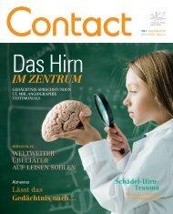 Contact Magazin - Nr 1 2012 - Hôpital du Valais