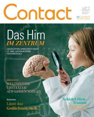 Contact Magazin - Nr 1 2012 - Hôpital du Valais