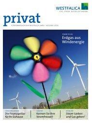 Kundenmagazin privat, Ausgabe 1/2012 (PDF 4 MB - westfalica