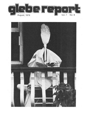 Glebe Report - Volume 7 Number 8 - August 1979