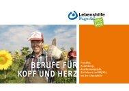 berufe für kopf und herz - Lebenshilfe Wuppertal