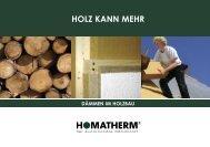 HOLZ KANN MEHR - Homatherm