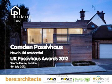 uk passivhaus awards 2012 - Passivhaus Trust