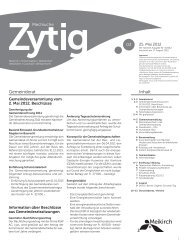 Nr.3 - 25. Mai 2012 - Meikirch