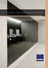 HUTER TREnnwandsysTEmE - Huter & Söhne