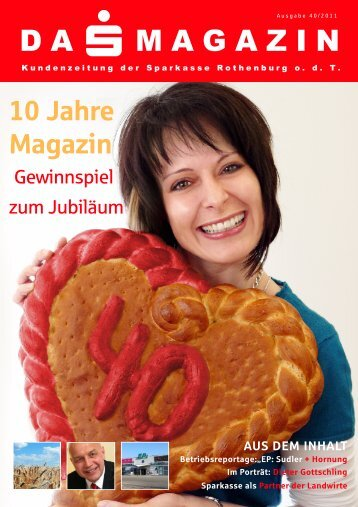 DA MAGAZIN - Sparkasse Rothenburg