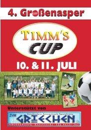 1000 Stk. - Timms Cup